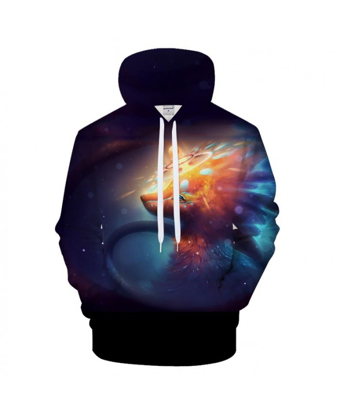 Fire Wolf Hoodies Sweatshirts Men Hoody Streetwear 3d Pullover Harajuku Tracksuit Autumn Coat 6XL Hoodie Drop Ship