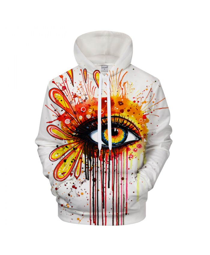 Fire and Ice by Pixie cold Art 3D Eye Printed Hoodies Men Women Sweatshirts Tracksuits Brand Pullover Drop Ship