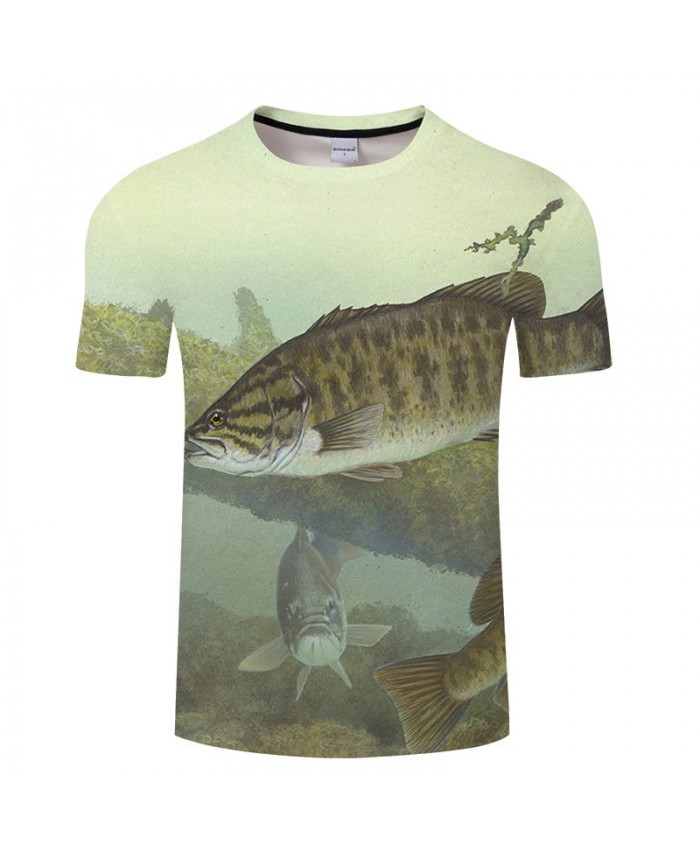 Fish In The Ocean 3D Print T Shirt Men tshirt Summer Casual Slim Men tshirt Short Sleeve O-neck Tops&Tee Drop Ship