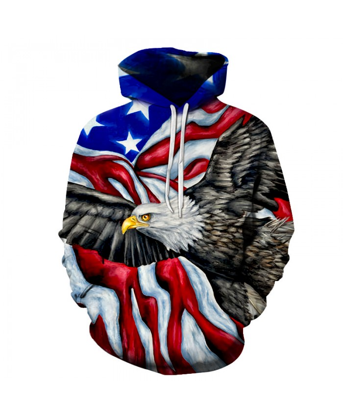 Flag Printed 3D Hoodies Men Sweatshirts Unisex Brand Hoodie Male Traksuits Noveltry Streetwear Boy Jakcets Hooded Pullover Coats