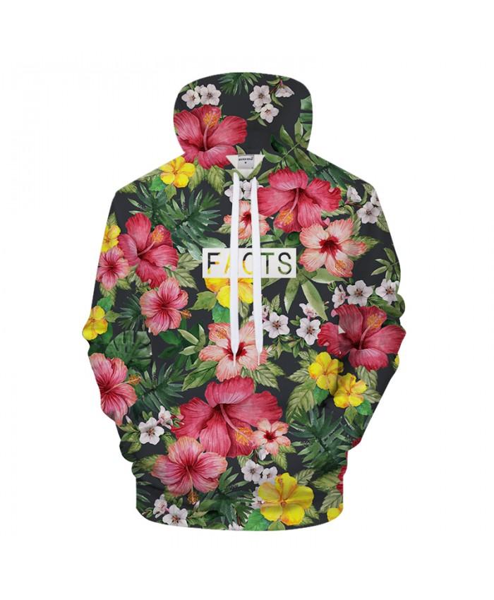 Flower 3D Hoodie Men Women Hoodies Print Hoody Streatwear Sweatshirts Brand Jacket Pullover Tracksuit Petal Drop ship
