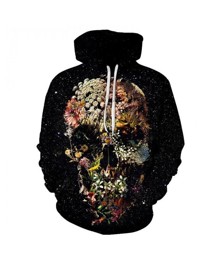 Flower Sea Hoe By ALI Artist Unisex Hoodie 3D Print Sweatshirts Pullover Harajuku Mens Hoody Casual Autumn 2021 Male Streetwear