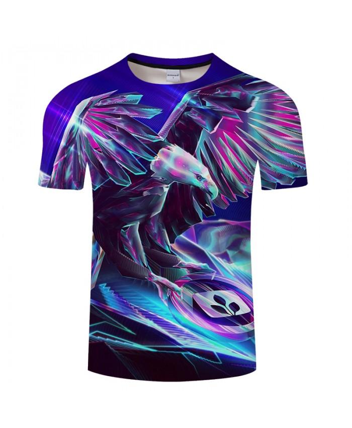 Flying Eagle 3D Print t shirt Men Women tshirts Summer Funny Animal Short Sleeve O-neck Tops&Tees 2018 Drop Ship