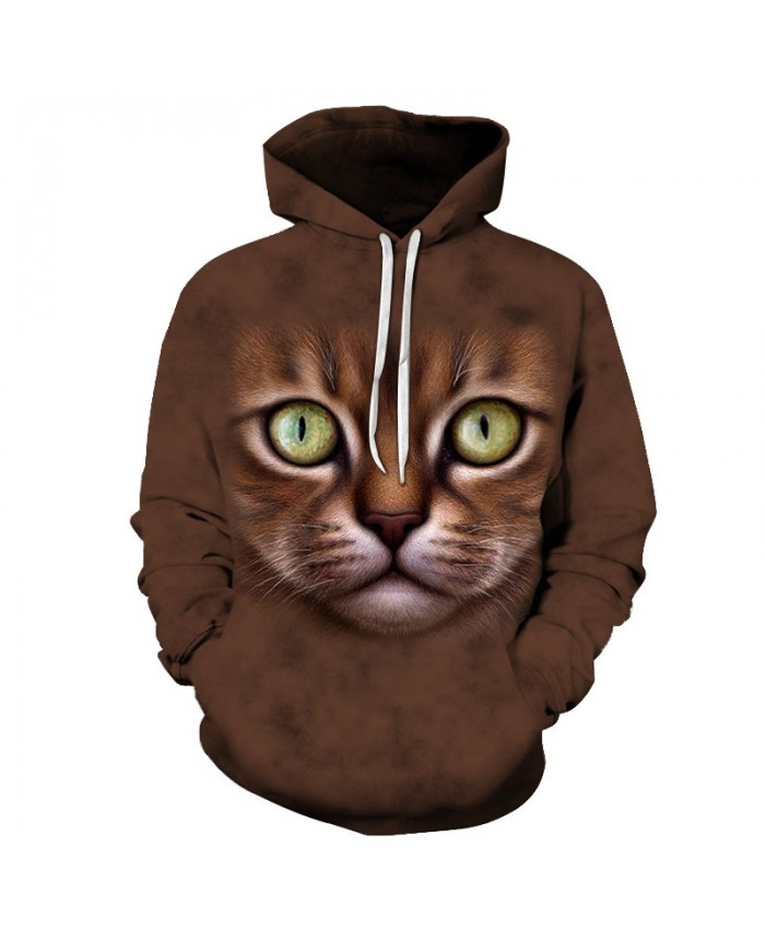 Funny Cat Hoodies 3d Sweatshirts Men Women Tracksuit Hooded Coat Autumn Winter Clothing Streetwear Coat Drop Ship
