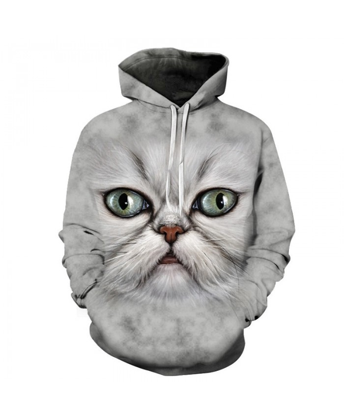 Funny Cat Hoodies Sweatshirts Men Women Tracksuit off white Hoodies 3d Fashion Coat Hooded Pullover Animal Drop Ship