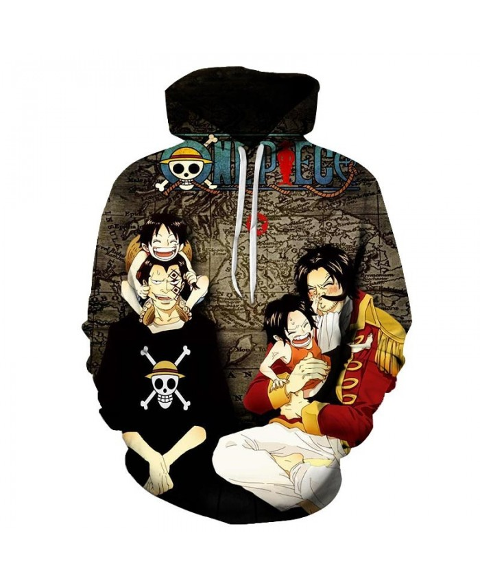 Funny Child One Piece 3D Hoodies Mens Pullover Sweatshirt Fashion Men Hoodies Pullover Tracksuits Anime Hoodie Men