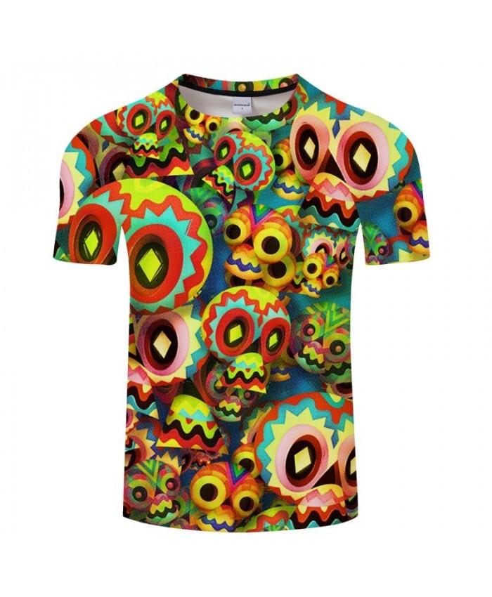 Funny Pattern Men T shirt 3D Print Anime Sweatshirts Casual Short Sleeve Boy harajuku Tops Fashion Tees Tshirt