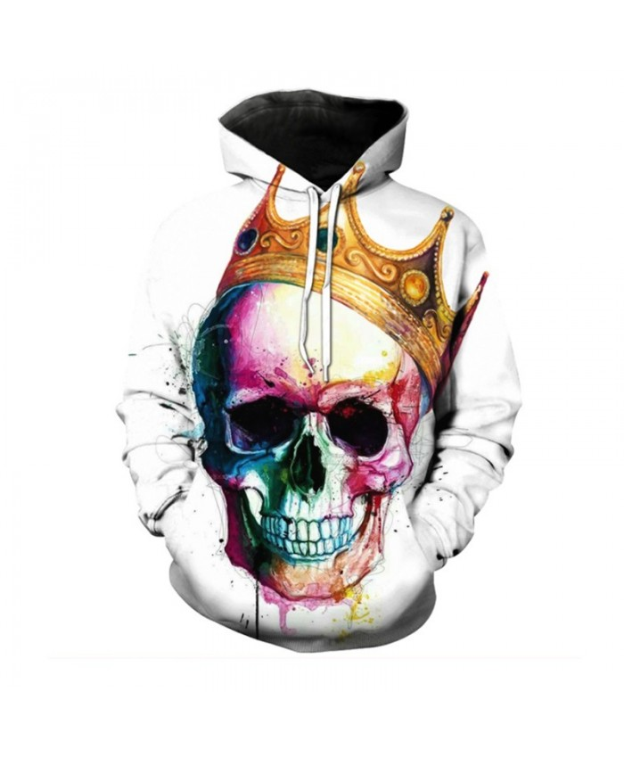 Funny Skull Hoodies Men Women Sweatshirts Unisex Tracksuits Hooded Pullover Brand Hoodie Drop Ship Quality Plus Size Streetwear