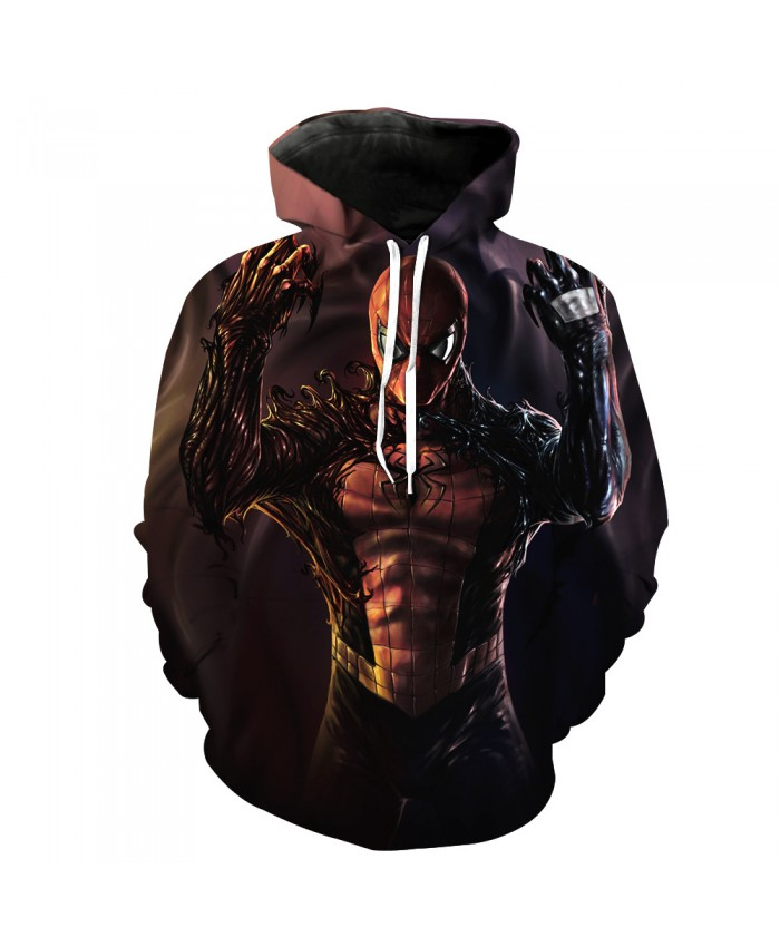 Funny Women Men Hoodie movies Venom 3D Print Casual Hoodies Sweatshirt Casual Pullover Sportswear D