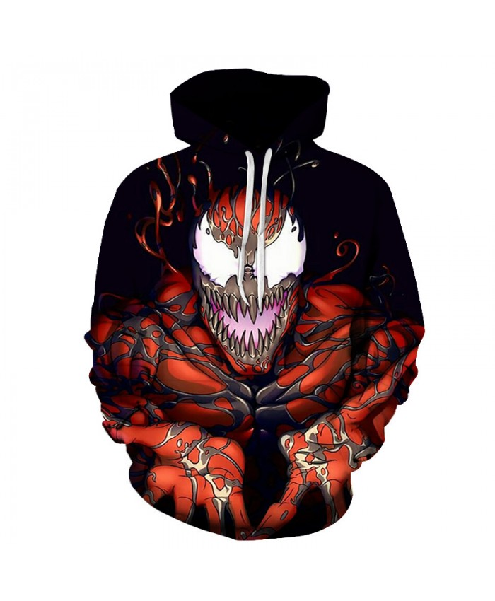 Funny Women Men Hoodie movies Venom 3D Print Casual Hoodies Sweatshirt Casual Pullover Sportswear F