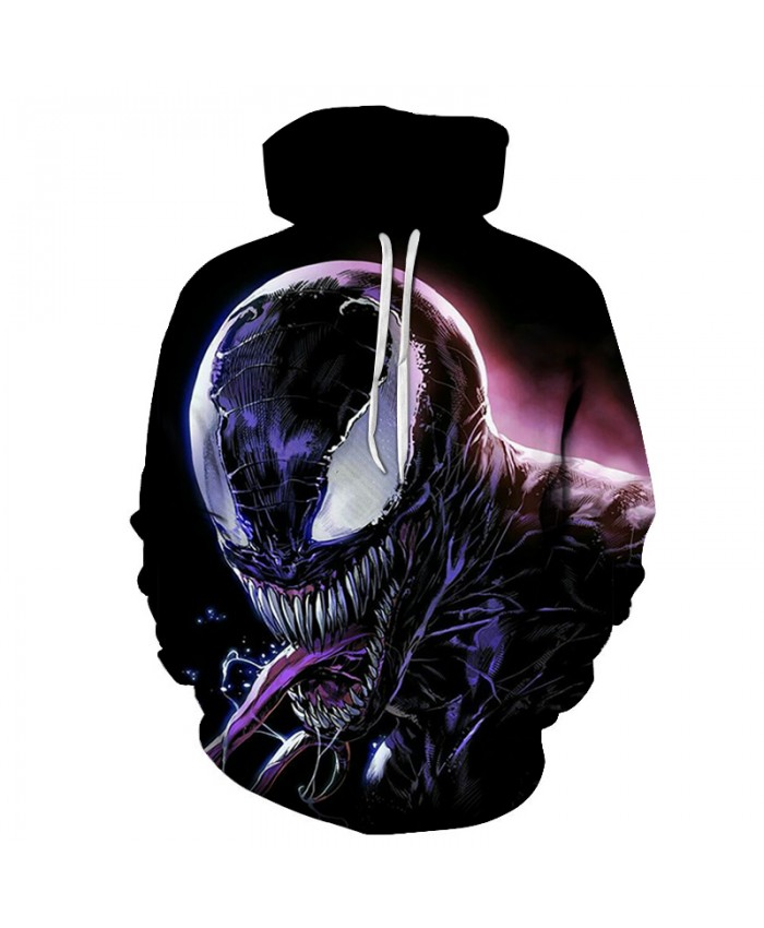 Funny Women Men Hoodie movies Venom 3D Print Casual Hoodies Sweatshirt Casual Pullover Sportswear G