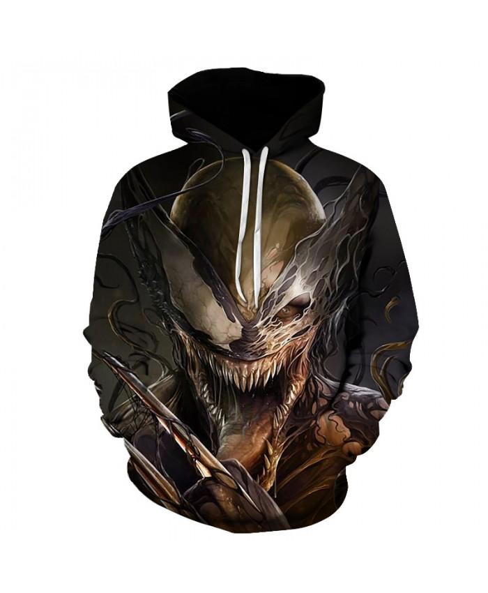 Funny Women Men Hoodie movies Venom 3D Print Casual Hoodies Sweatshirt Casual Pullover Sportswear H