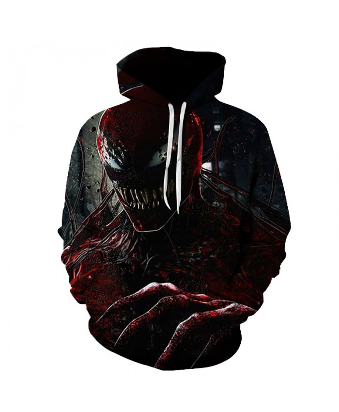 Funny Women Men Hoodie movies Venom 3D Print Casual Hoodies Sweatshirt Casual Pullover Sportswear I