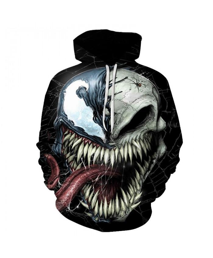 Funny Women Men Hoodie movies Venom 3D Print Casual Hoodies Sweatshirt Casual Pullover Sportswear J
