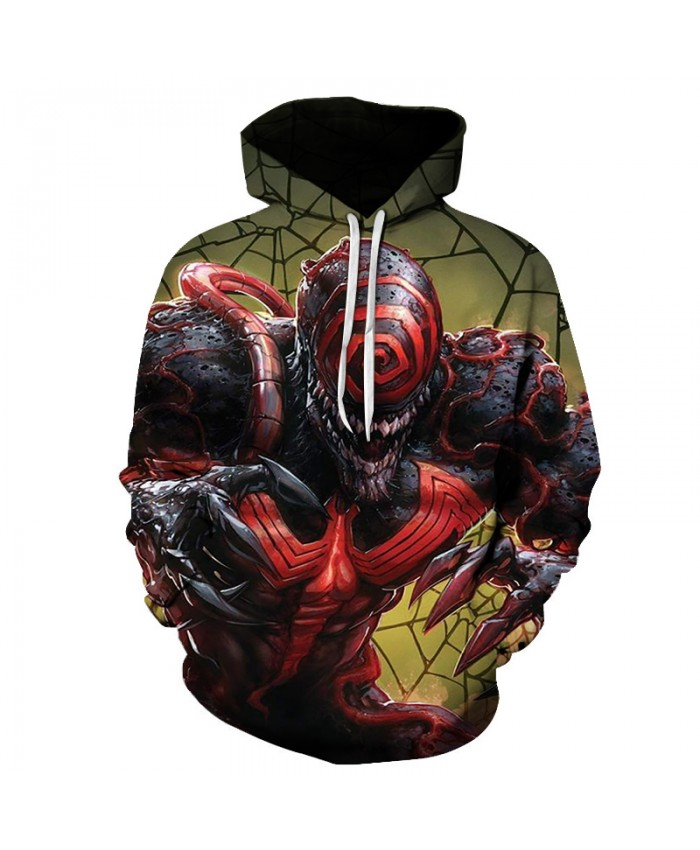 Funny Women Men Hoodie movies Venom 3D Print Casual Hoodies Sweatshirt Casual Pullover Sportswear L