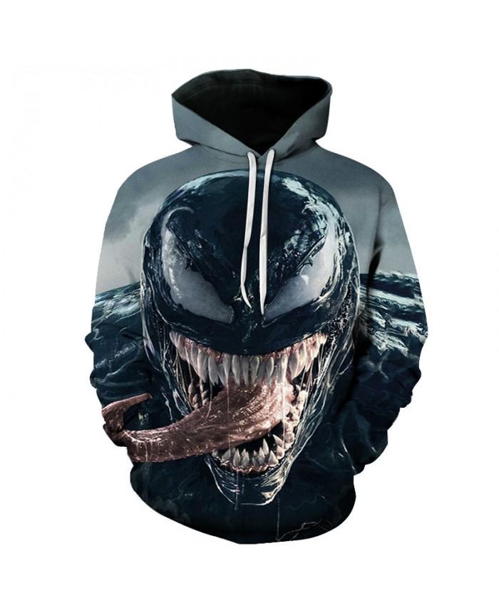 Funny Women Men Hoodie movies Venom 3D Print Casual Hoodies Sweatshirt Casual Pullover Sportswear N