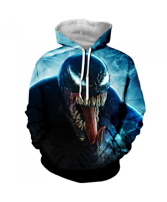 Funny Women Men Hoodie movies Venom 3D Print Casual Hoodies Sweatshirt Casual Pullover Sportswear R