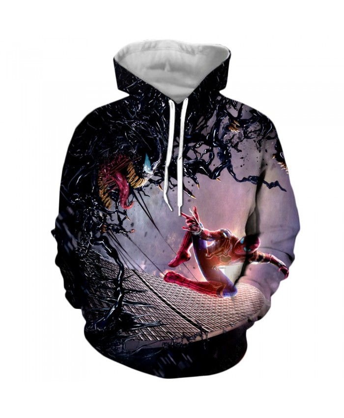 Funny Women Men Hoodie movies Venom 3D Print Casual Hoodies Sweatshirt Casual Pullover Sportswear T
