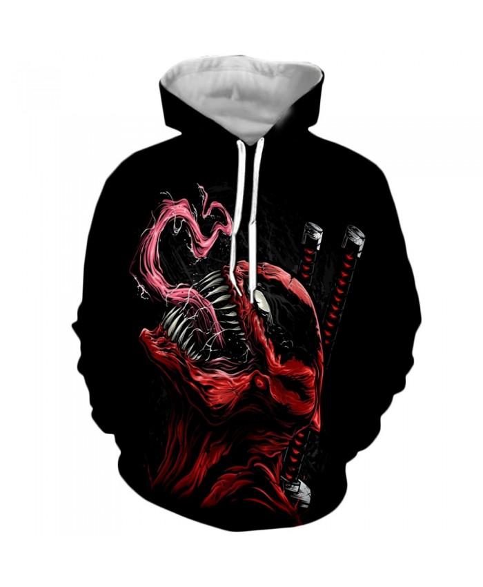 Funny Women Men Hoodie movies Venom 3D Print Casual Hoodies Sweatshirt Casual Pullover Sportswear Z