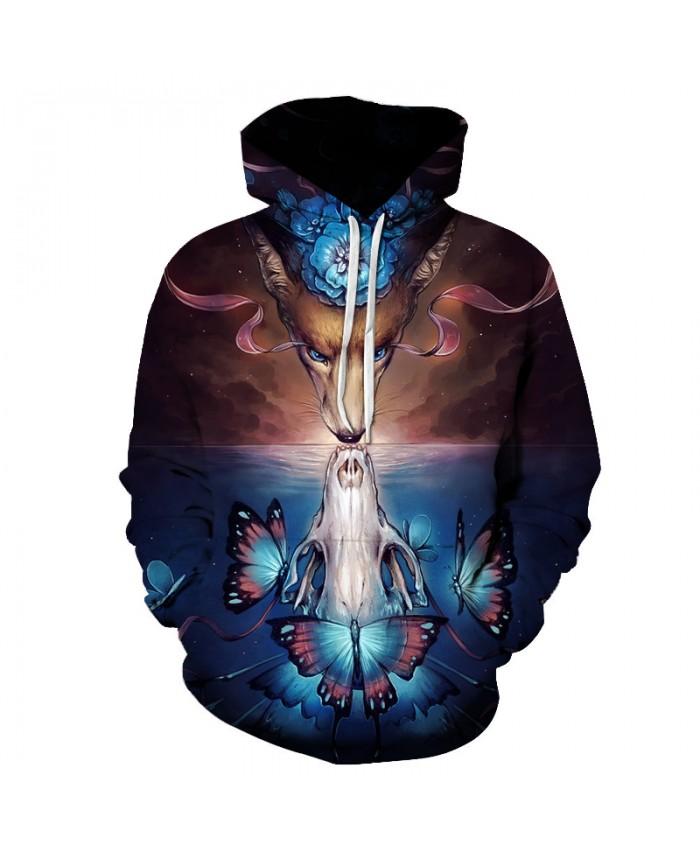 Funny by JoJoesArt 3d Animal Hoodies Men Women Hooded Sweatshirt Novelty Autumn Brand Pullover Printed Tracksuit Funny Coat