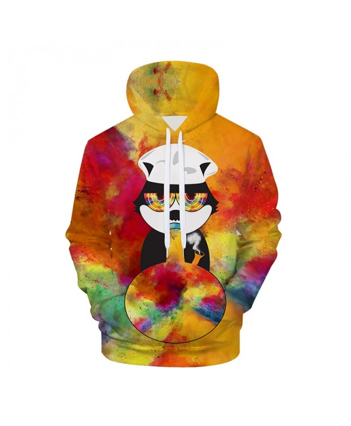 Galaxy 3D Hoodies Cat Hoodie Sweatshirts Animal Space Pullover Casual Tracksuits Brand Fashion Coats Streetwear Clothes A