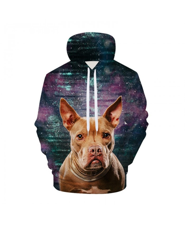 Galaxy 3D Hoodies Dog Hoodie Sweatshirts Animal Space Pullover Casual Tracksuits Brand Fashion Coats Streetwear Clothes