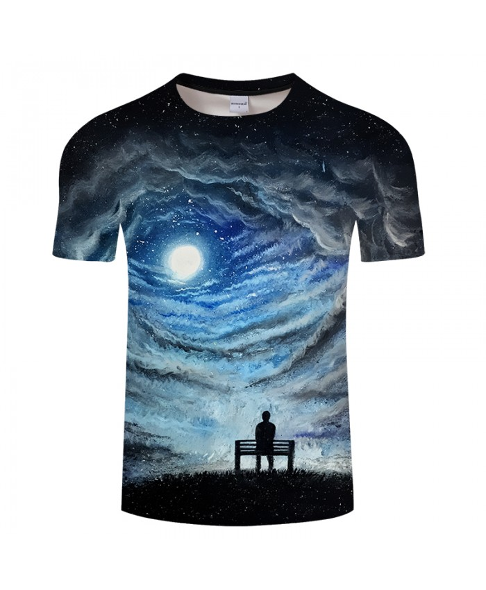 Galaxy 3D Printed T shirt Men tshirts Female Fashion Summer Short Sleeve t shirt Tops&Tees Drop Ship Unisex 2018