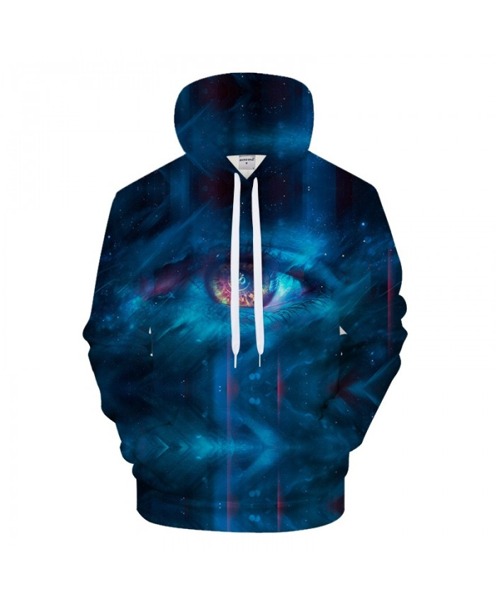 Galaxy Eye 3D Sweatshirts Men Hoodies Brand Clothing Autumn Tracksuit Autumn Pullover Streetwear Hoody 6xl Drop Ship