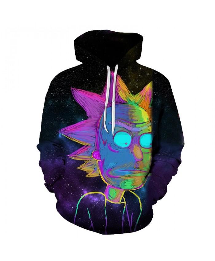Galaxy Printed Hoodies Men Sweatshirts 3D Hoodie Anime Pullover Unisex Hoody Funny Tracksuit Harajuku Coat Drop Ship B