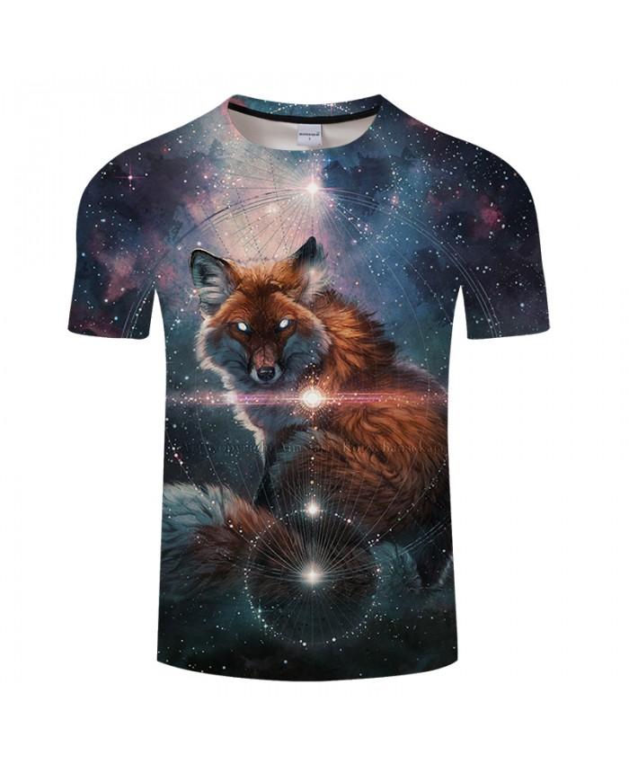Galaxy&Wolf 3D Print t shirt Men Women tshirt Summer Casual Short Sleeve O-neck Tops&Tee Camisetas Groot Drop Ship