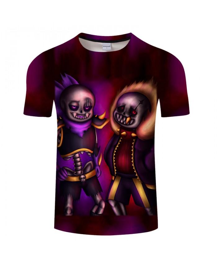 Ghost Brother 3D Print T shirts Men T-shirts Brand Top Tees Streetwear Summer Short Sleeve tshirt O-neck Drop Ship