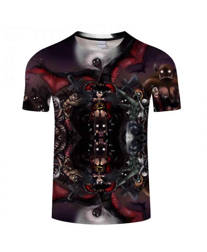 Ghost Shadow 3D Print T shirts Men T-shirts Brand Top Tee Streetwear Summer Short Sleeve tshirt O-neck Drop Ship