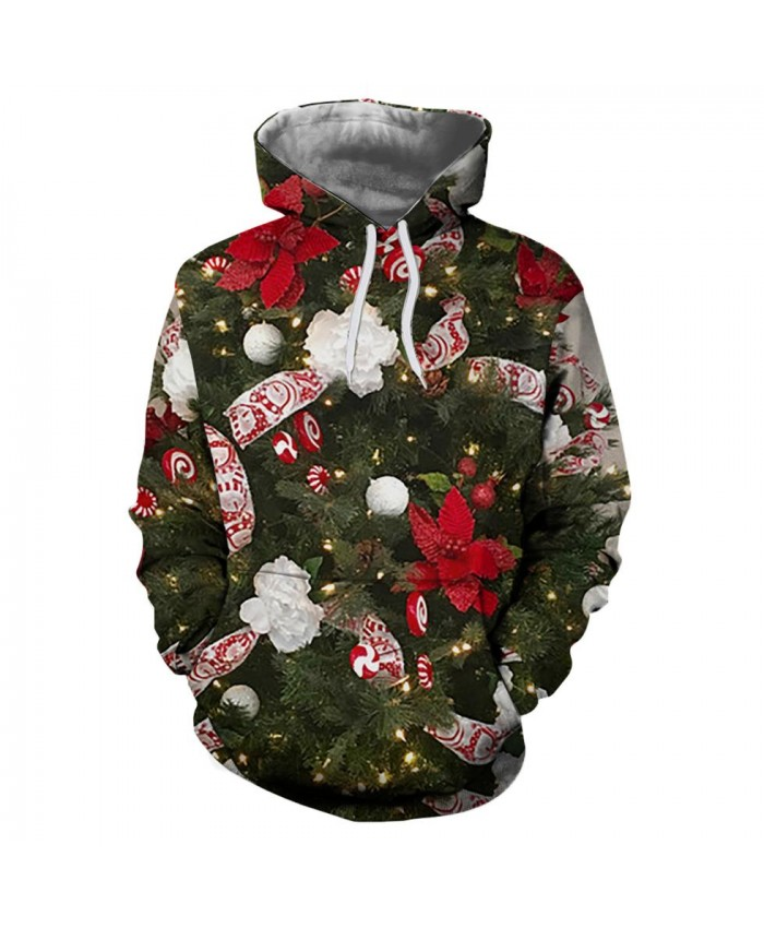 Gift on the Christmas tree Christmas Hoodies 3d Sweatshirts Men Women Hoodie Print Couple Tracksuit Hooded Hoody Clothing