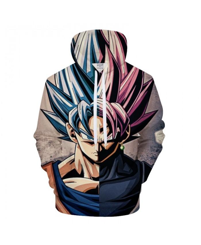 Goku 3D Hoodie Men Hoody Dragon Ball Printed Tracksuit Anime Sweatshirt Groot Coat Streatwear Hot Pullover DropShip