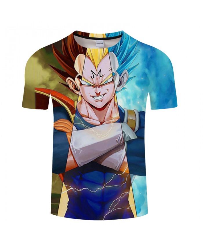 Goku 3D t shirt Men tshirts Summer T-Shirt Dragon Ball Short Sleeve Tees Streetwear Tops Harajuku Groot 2018 DropShip