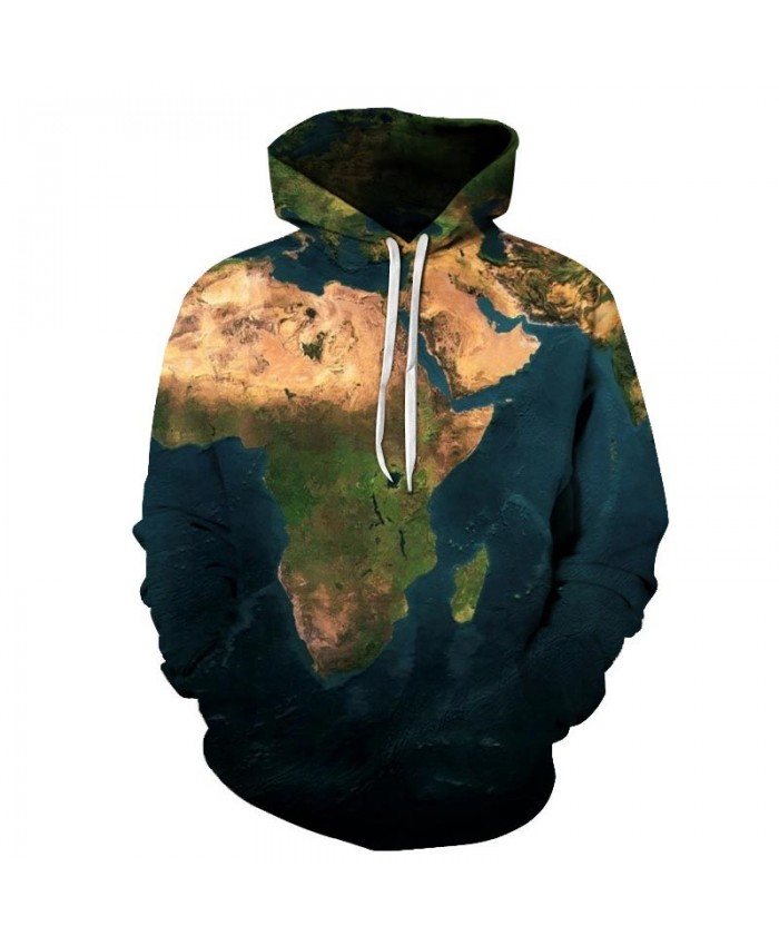 Golden Desert Map 3D Print Men Pullover Sweatshirt Pullover Hoodie Casual Fashion Men Hoodie Streetwear Sweatshirt