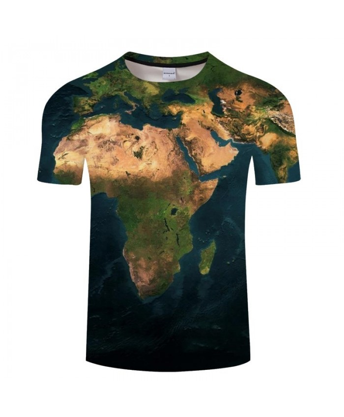 Golden Desert Map 3D Printed Men tshirt Mens Shirt Casual Summer Short Sleeve Male tshirt Brand Men Round Neck