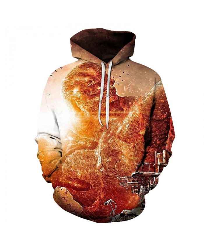 Golden mens hoodies Pullover Sportsuit Long Sleeve Hoodie Sportsuit Streatwear Sweatshirt Fashion Men