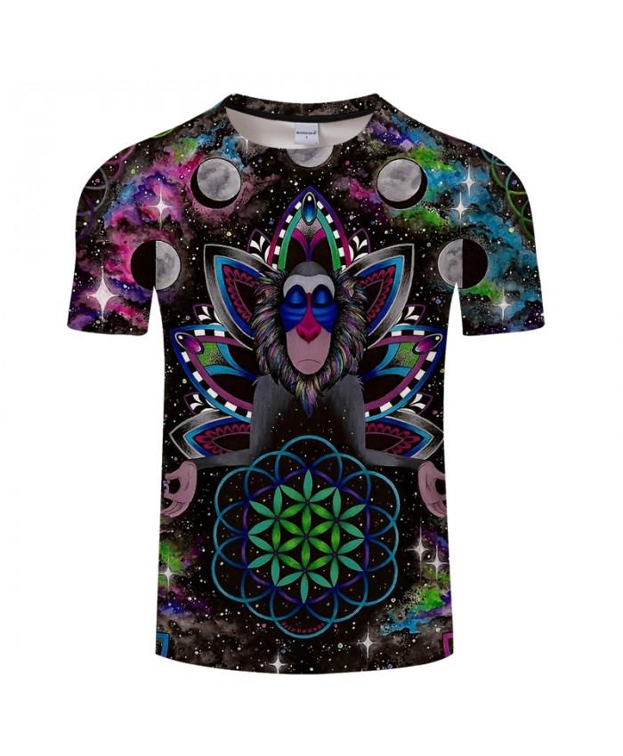 Gorilla&Galaxy 3D Print t shirt Men Women tshirts Summer Casual Short Sleeve O-neck Tops&Tees 2018 Hot Drop Ship