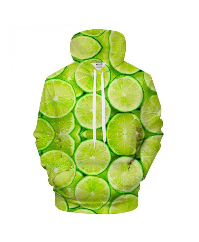 Green Orange Hoodies 3D Print hoodie Men Women Hoody Streetwear Sweatshirt Print Tracksuit Streetwear Pullover Coat Small Fresh