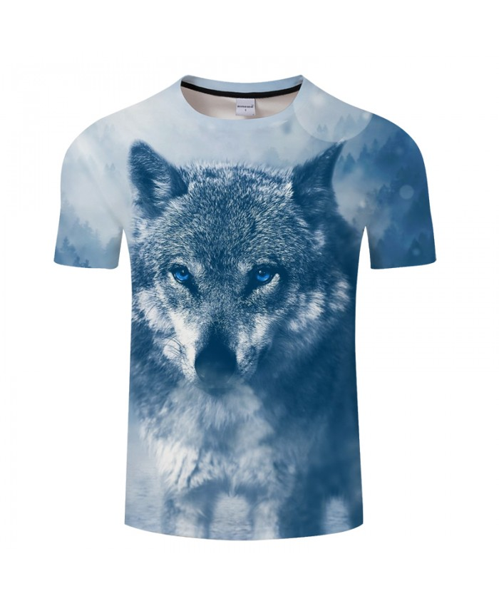 Grey Ink Wolf Digital 3D Print t shirt Men Women tshirt Summer Casual Short Sleeve O-neck Tops&Tees Blusas Drop Ship