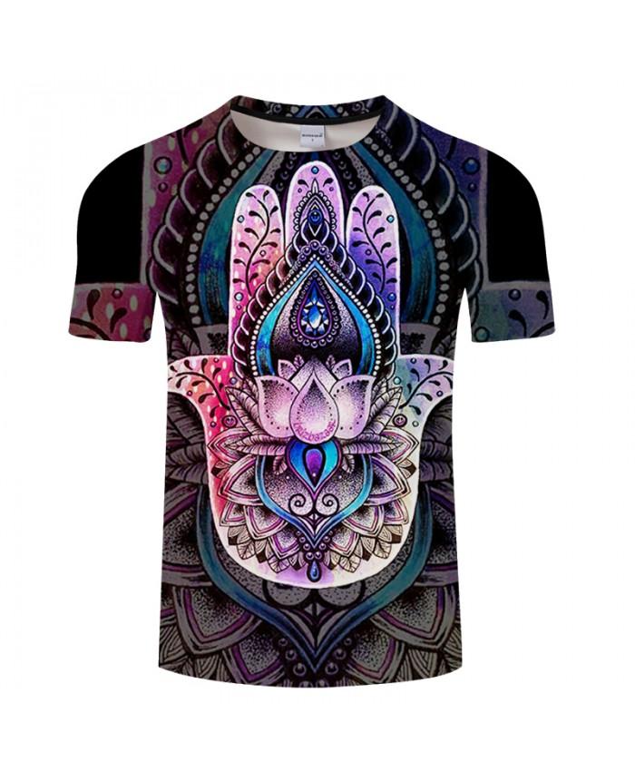 HAMSA By Art 3D Print New Fashion Tshirt Short Sleeve T-shirt Men Women Funny Tshirt Short T shirt Drop Ship