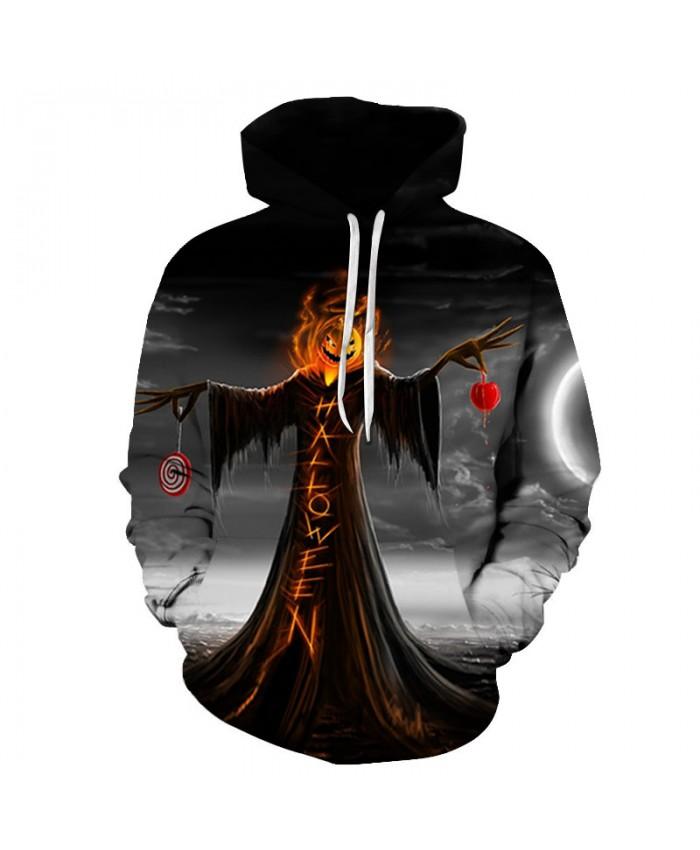 Halloween Dress 3D Print Hoodies Men Hoody Harajuku Hoodie Streatwear Sweatshirt Tracksuit Pullover Hip Hop Dropship