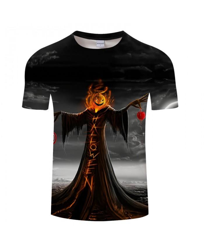 Halloween Dress 3D Print T shirts Men T-shirts Brand Tops Tee Streetwear Summer Short Sleeve tshirt O-neck Drop Ship