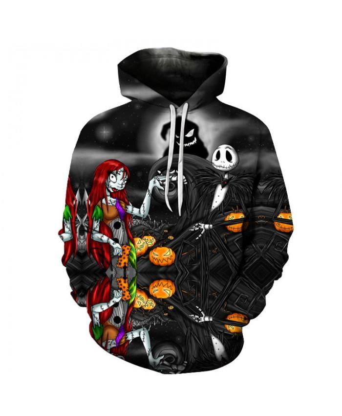 Halloween Party 3D Print Hoodies Men Hoody Harajuku Hoodie Streatwear Sweatshirt Tracksuit Pullover Hip Hop Dropship