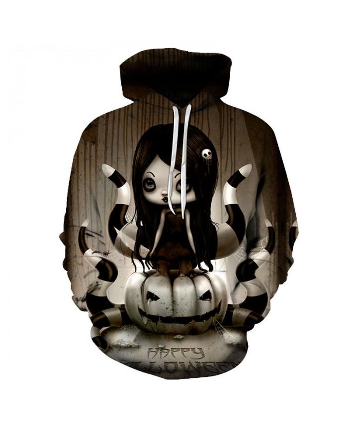 Halloween Pumpkin 3D Hoodies Men Hoody Harajuku Hoodie Streatwear Sweatshirt Tracksuit Pullover Coat Hip Hop Dropship