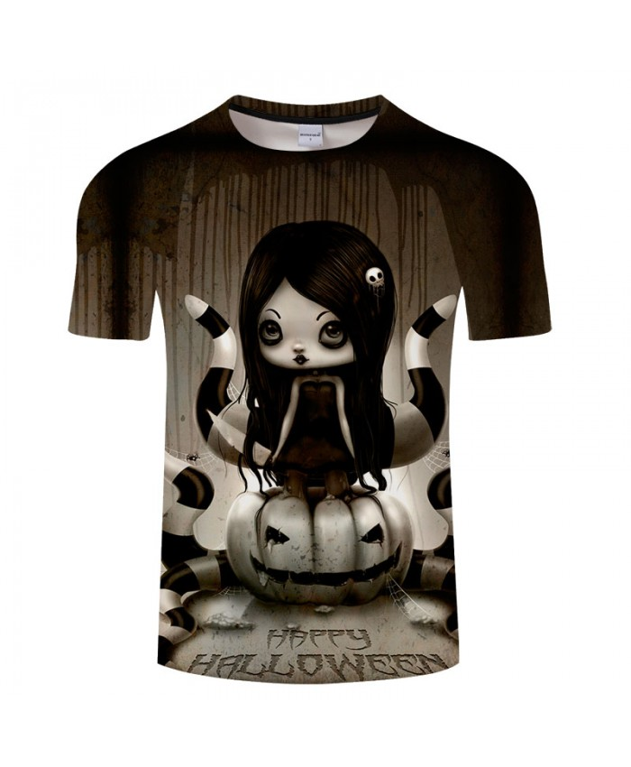Halloween Pumpkin 3D Print T shirt Men T-shirt Brand Tops Tee Streetwear Summer Short Sleeve tshirt O-neck Drop Ship