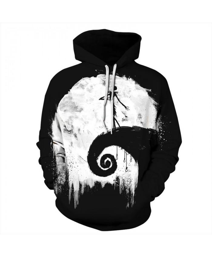 Halloween Style Dark Dead Dancer Neutral Hooded Sweatshirt