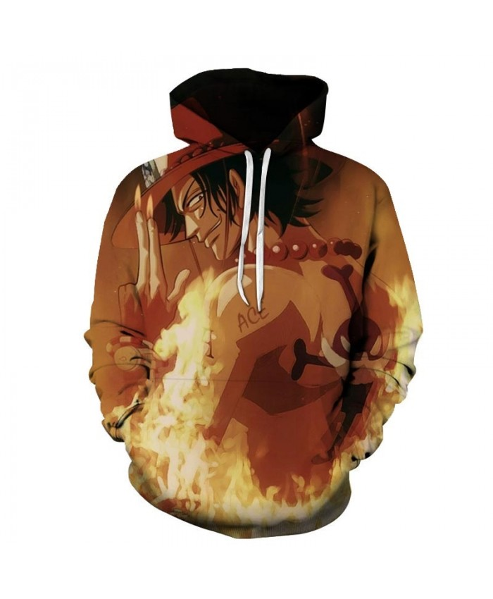 Hand Pointed Fire 3D Printed Men One Piece Hoodies Mens Pullover Sweatshirt Fashion Men Hoodies Pullover Casual Men