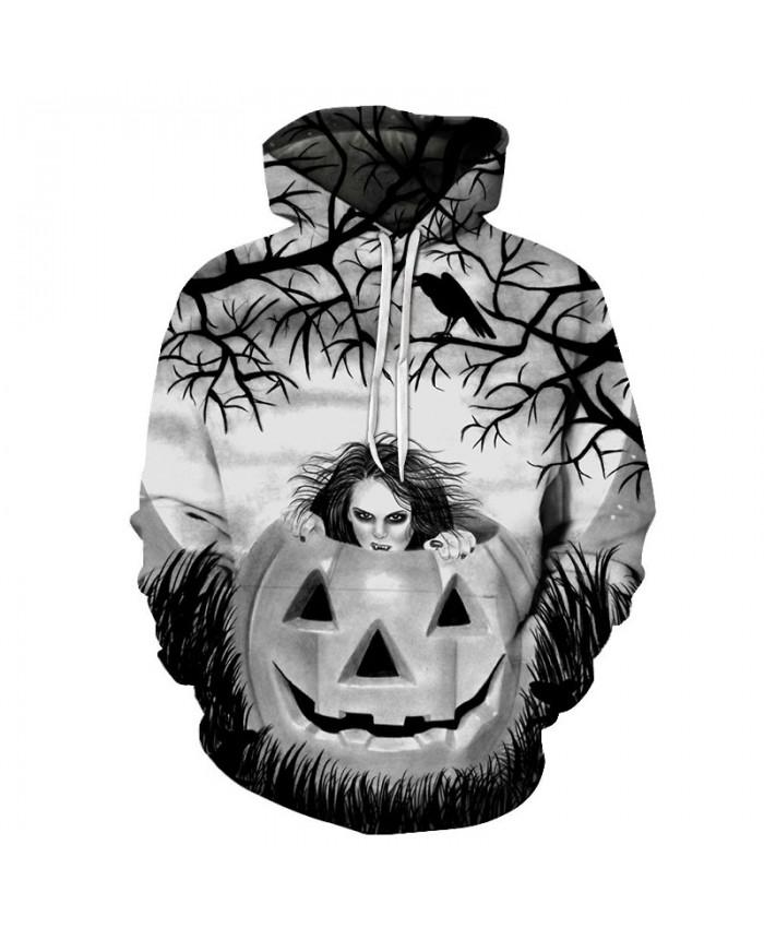 Happy Halloween 3D Hoodies Men Hoody Harajuku Hoodie Streatwear Sweatshirt Tracksuit Pullover Coat Hip Hop Dropship